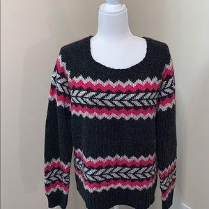 American Eagle Long Sleeve 23% Wool Sweater